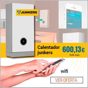 PROMOCIÓN - Calentador junkers