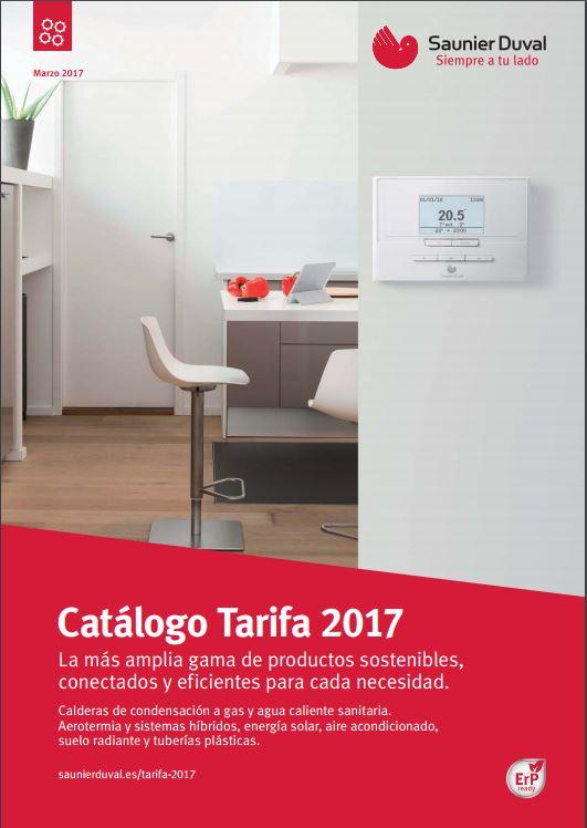 catálogo tarifa saunier duval
