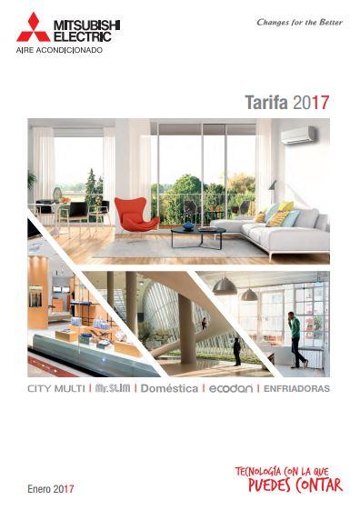 Catálogo Tarifa Mitsubishi 2017