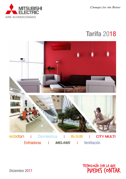 Catálogo Mitsubishi 2018