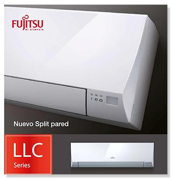 Aire acondicionado Fujitsu de la serie LLCC