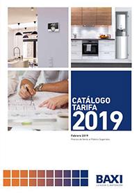Catálogo tarifa BAXI 2019