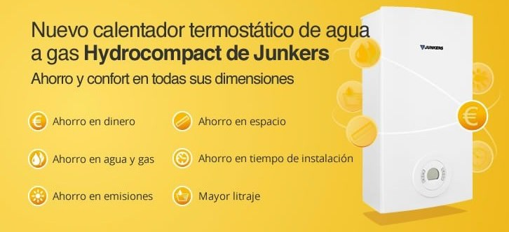 calentador de gas estanco Junkers