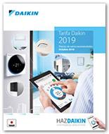 Tarifa Daikin 2019